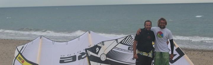 WindGouré Rider oficial de Area Kiteboarding y Core Kites España