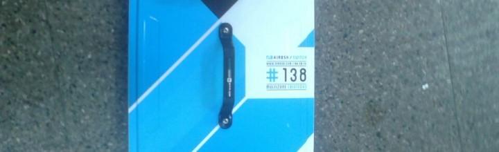 Tabla Airush 2014 muyyy poco uso 1,38 x 41 cm